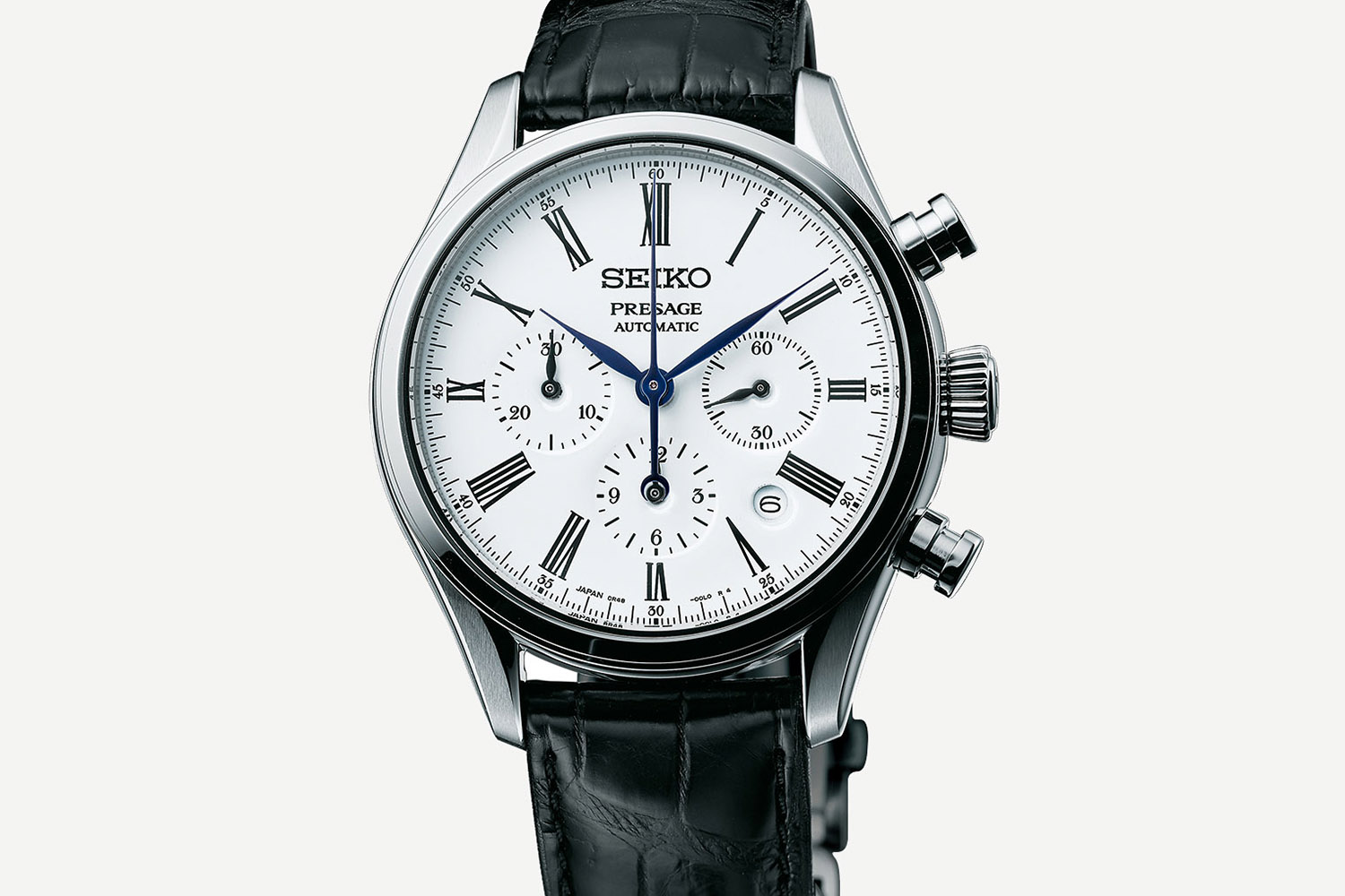 Seiko Presage Fired Enamel Dial Collection - Presage Automatic Chronograph SRQ023