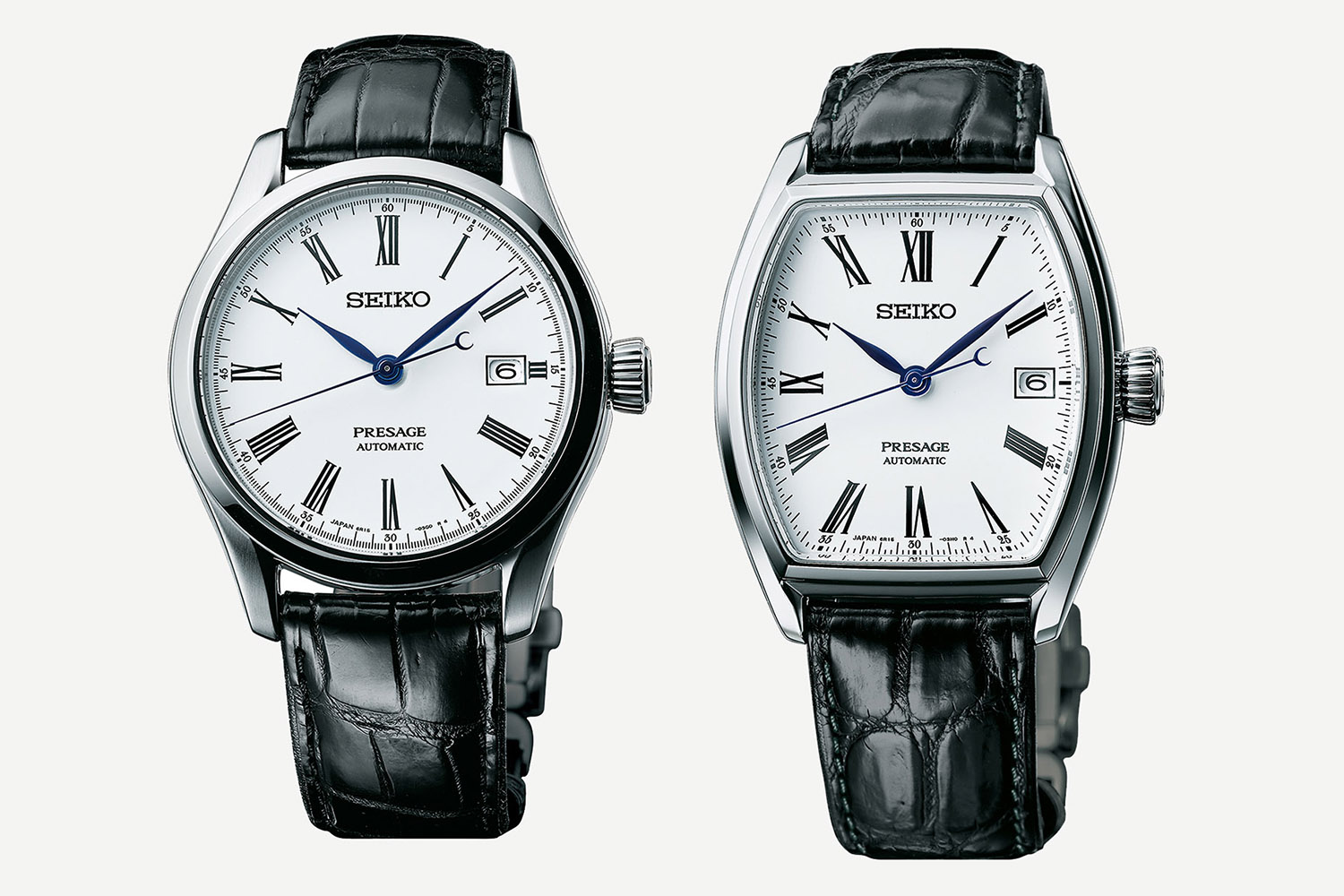 Seiko Presage Fired Enamel Dial Collection - Presage Automatic enamel SPB049 - SPB047
