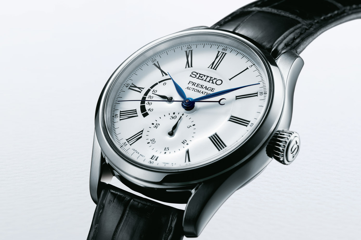 Seiko Presage Fired Enamel Dial Collection - Presage Multi-Hand Automatic enamel SPB045