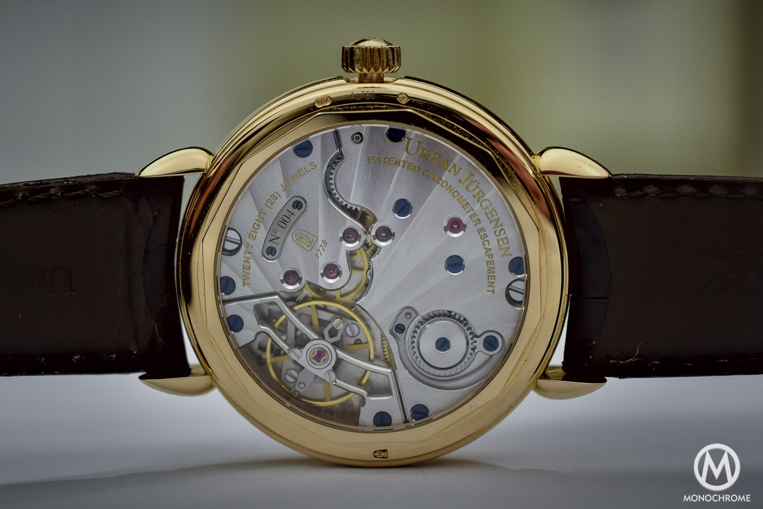 Urban Jurgensen 1140C Detent Escapement