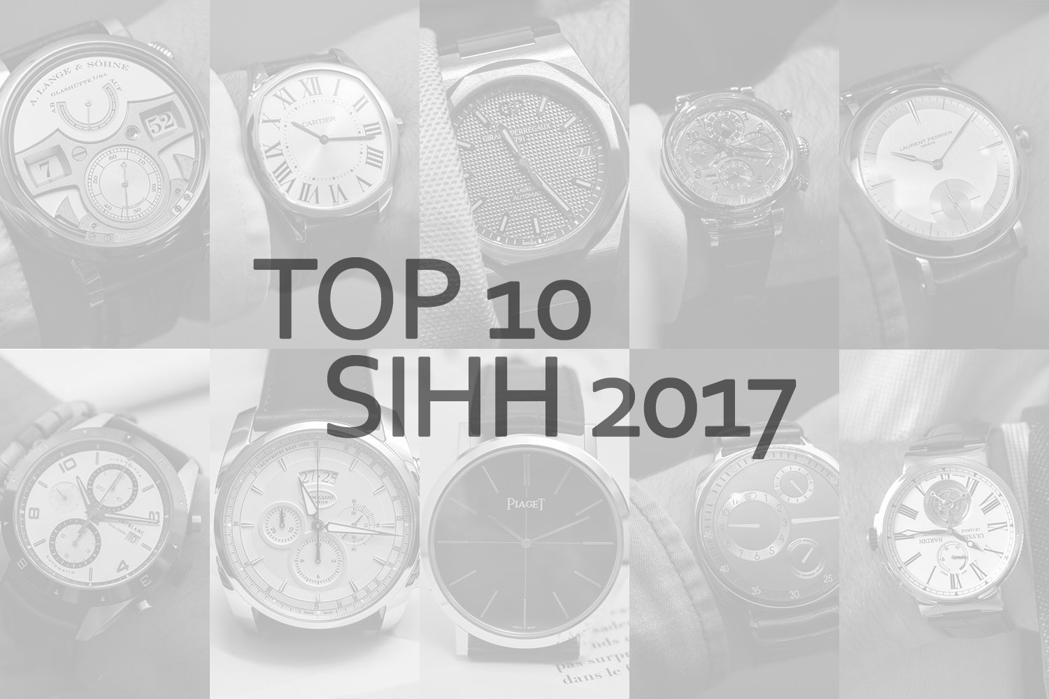 top 10 SIHH 2017 Frank Geelen Monochrome Watches