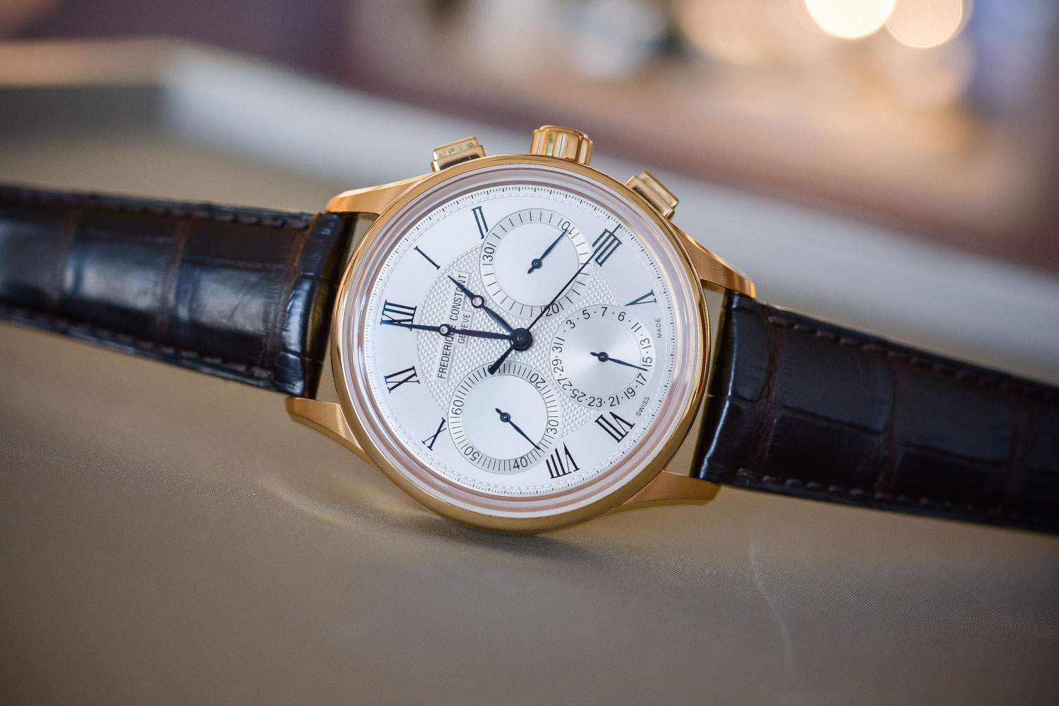 Frederique Constant Flyback Chronograph Manufacture - Baselworld 2017