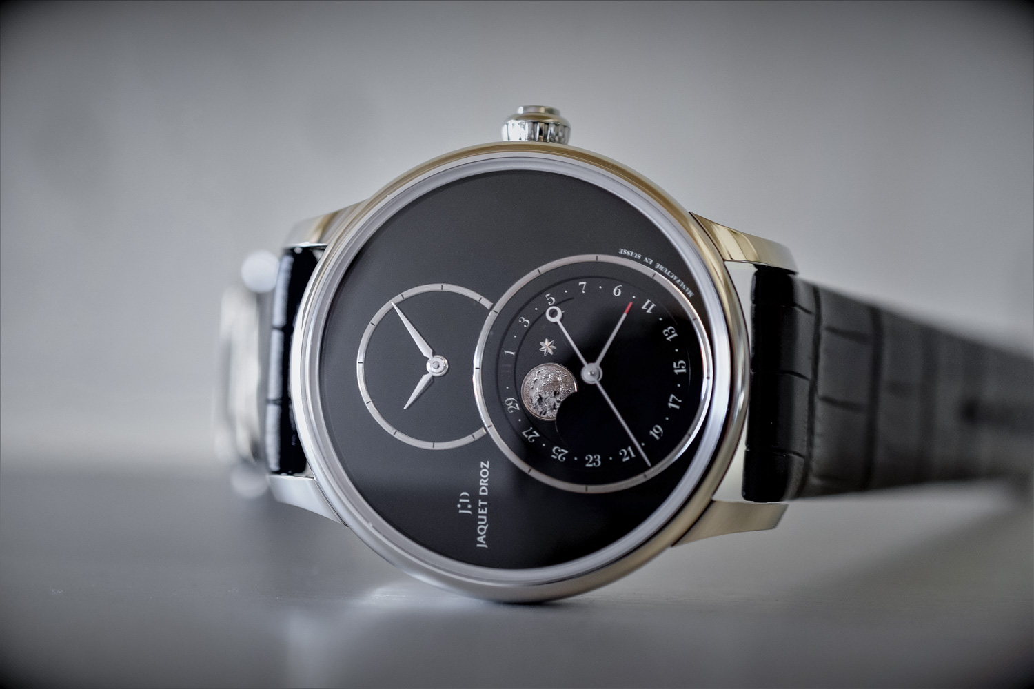 Jaquet Droz Grande Seconde Moon - Baselworld 2017