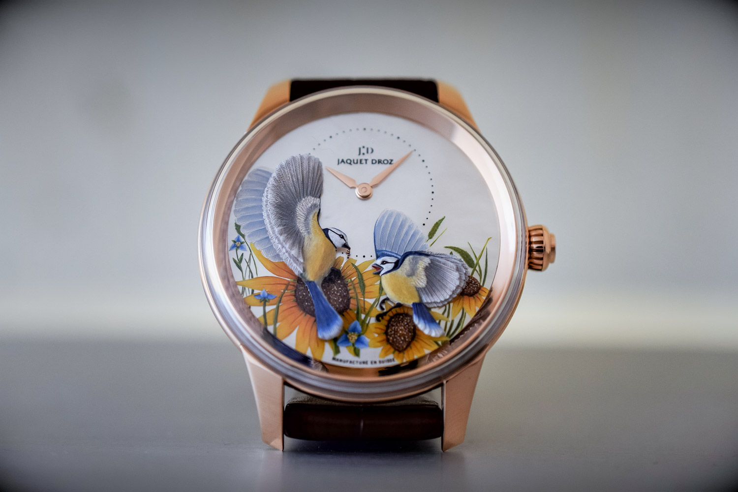 Jaquet Droz Petite Heure Minute Relief Seasons - Baselworld 2017