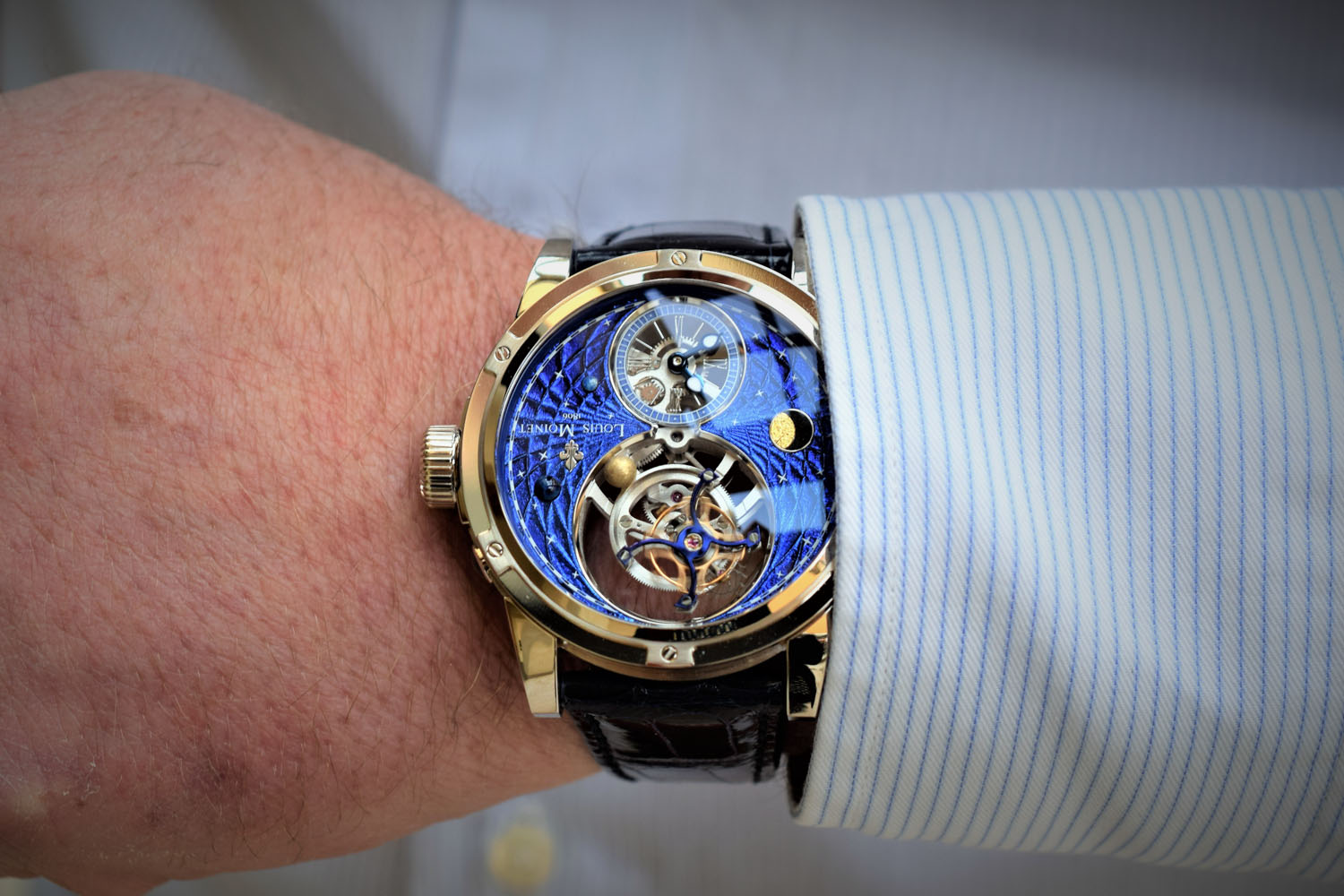 Louis Moinet Space Mystery - Baselworld 2017