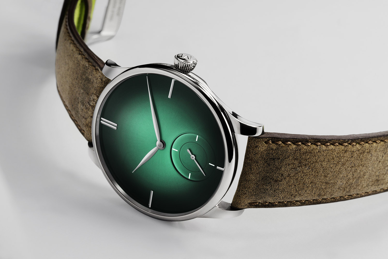 Moser Venturer Small Seconds XL Purity Cosmic Green