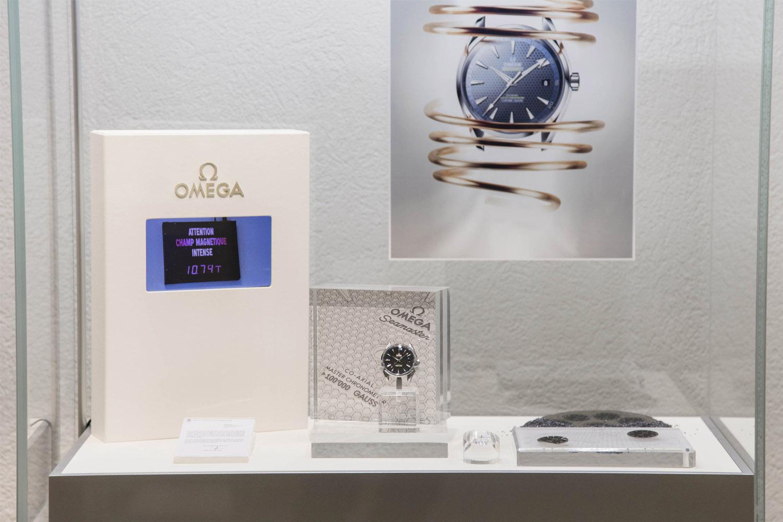 Omega Antimagnetic showcase museum - 1