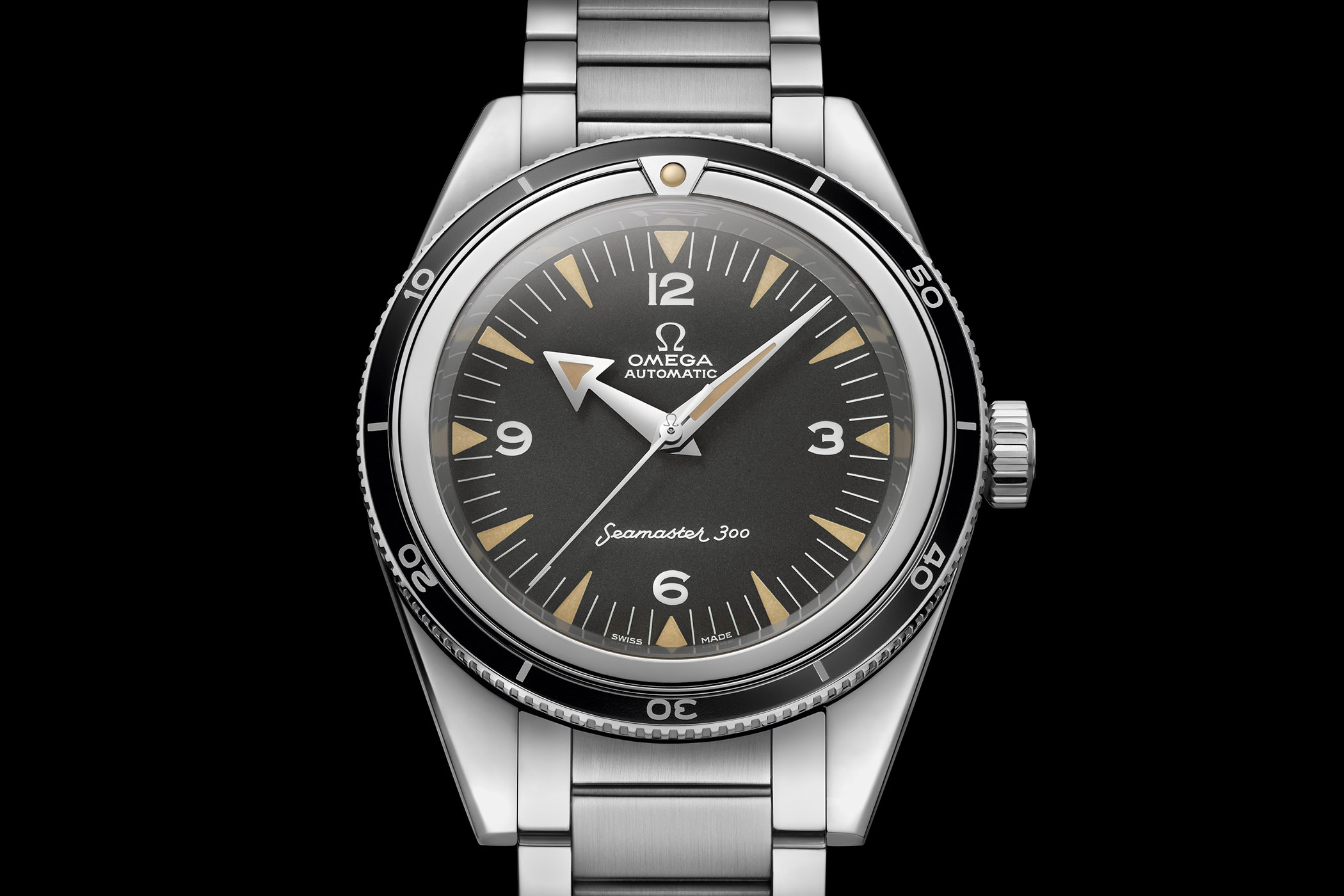 Omega Seamaster 300 60th Anniversary Limited Edition Master Chronometer 39mm - Baselworld 2017