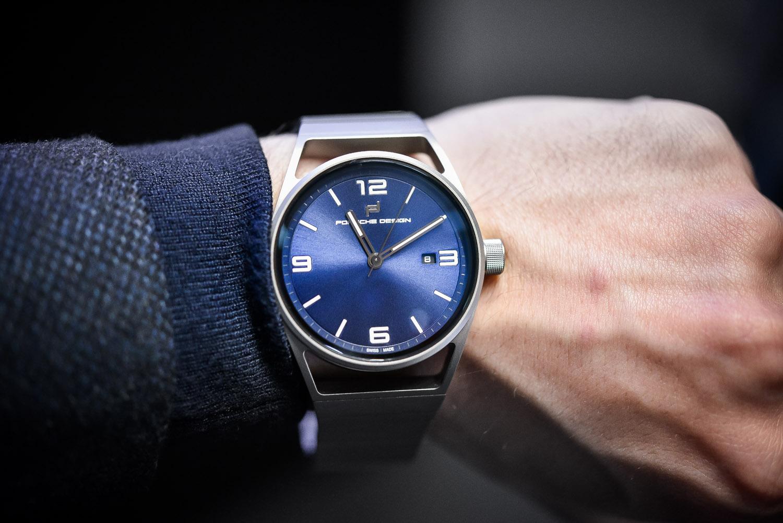 Porsche Design 1919 Datetimer Eternity All Titanium Blue - Baselworld 2017