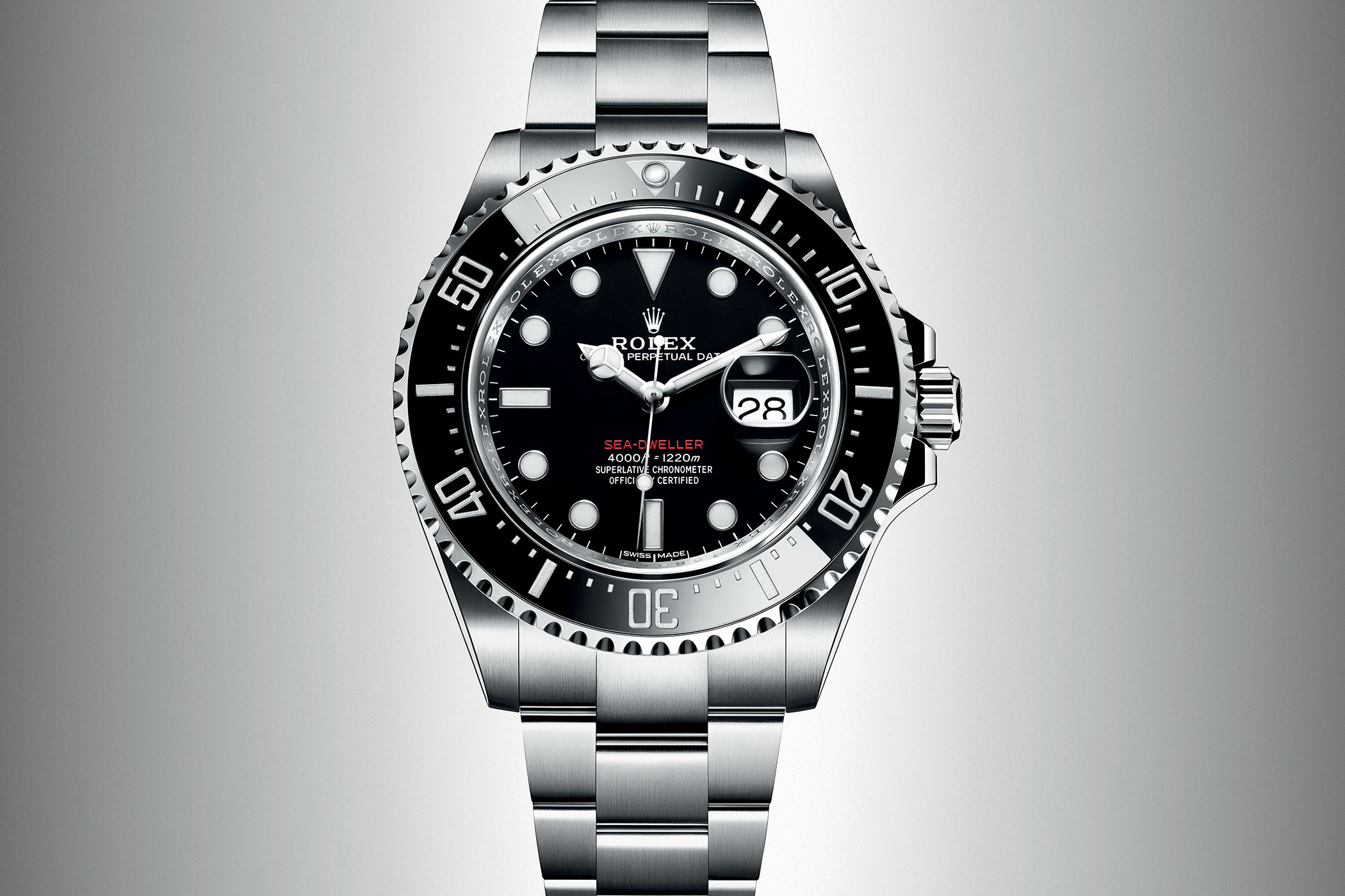 Rolex Sea Dweller Single Red 43mm cyclops 3235 ref.126600