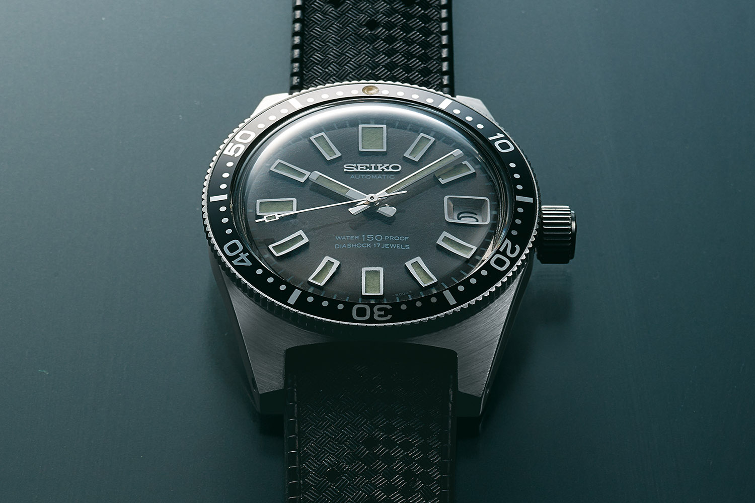 Seiko 62Mas 1965 ref 6217 - Seiko First Dive Watch