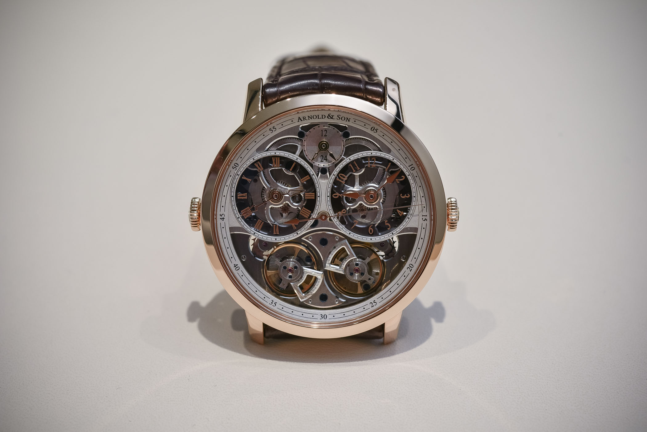 Arnold And Son DBG Skeleton Dual-Time