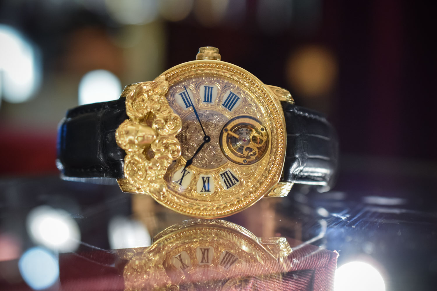 d294ffb3ed94 Dolce & Gabbana Makes Its Debuts In The World of Haute Horlogerie ...