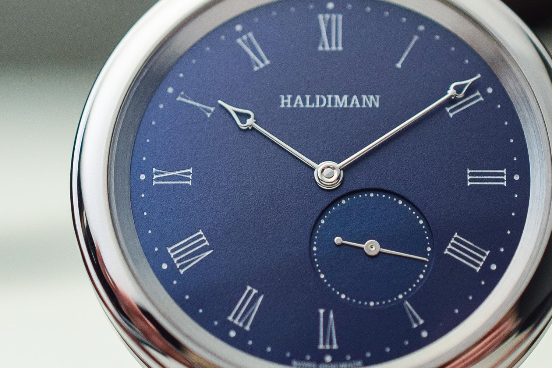 Haldimann H11 H12 Steel Blue Dial