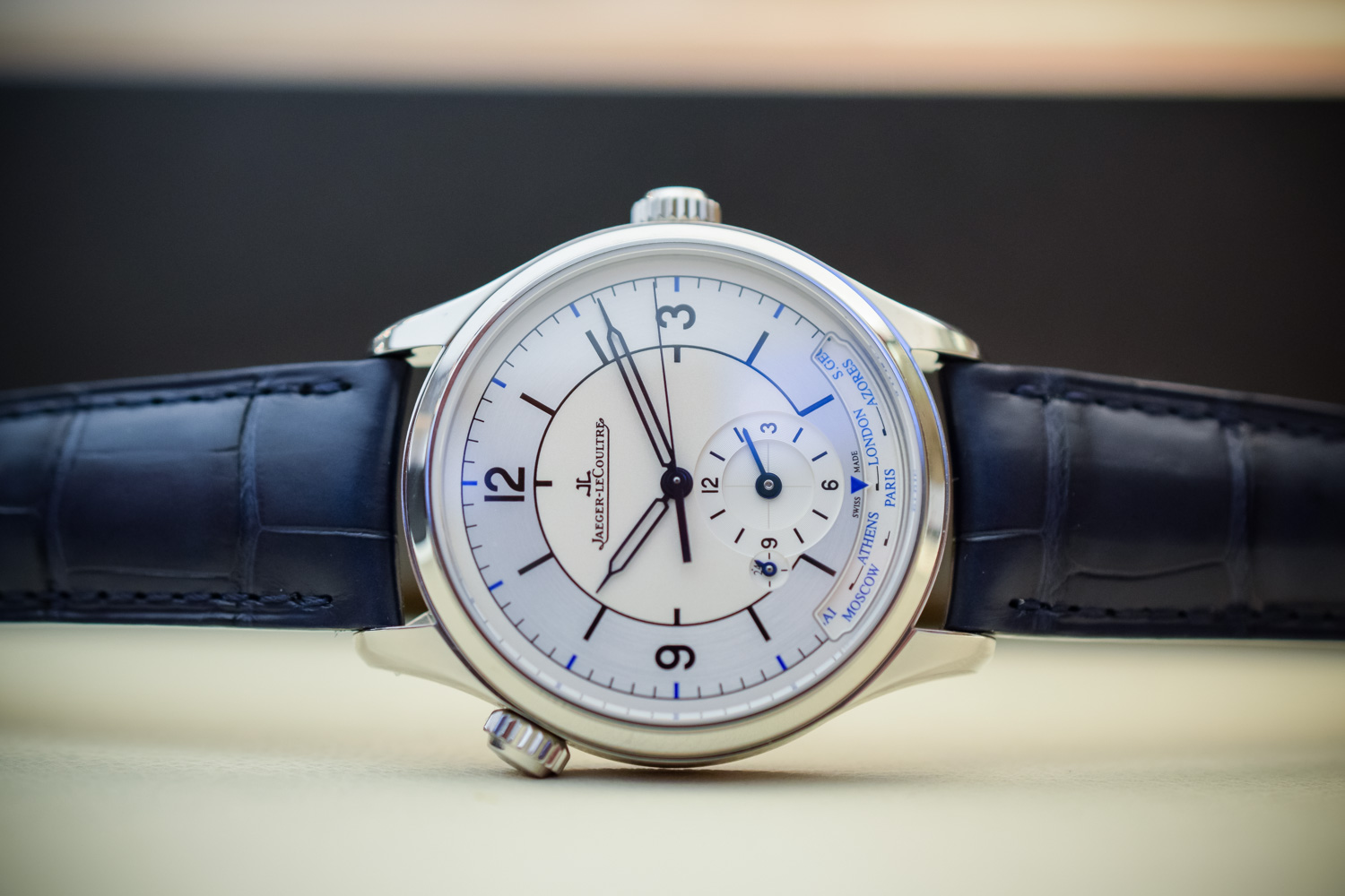 Jaeger-LeCoultre Master Geographic Sector Dial