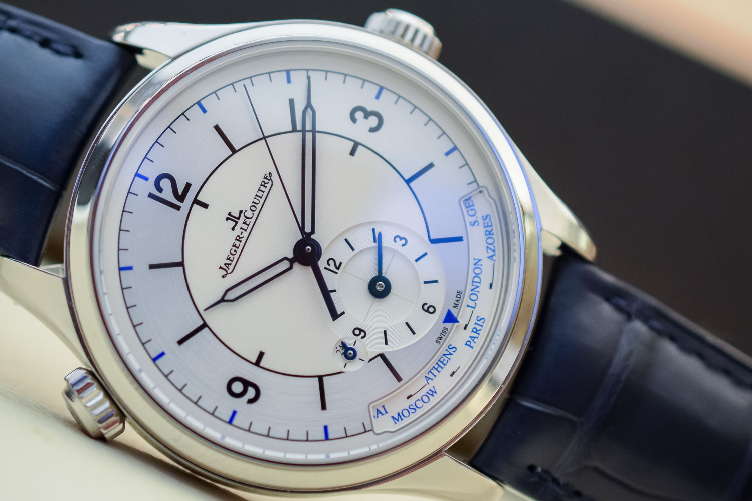 Jaeger-LeCoultre Master Goegraphic Sector Dial