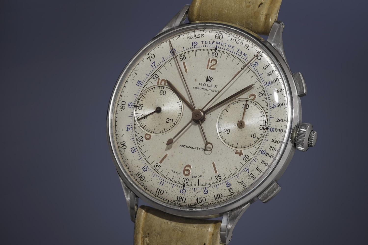 Rolex 4113 Rattrapante Chronograph - credit phillips