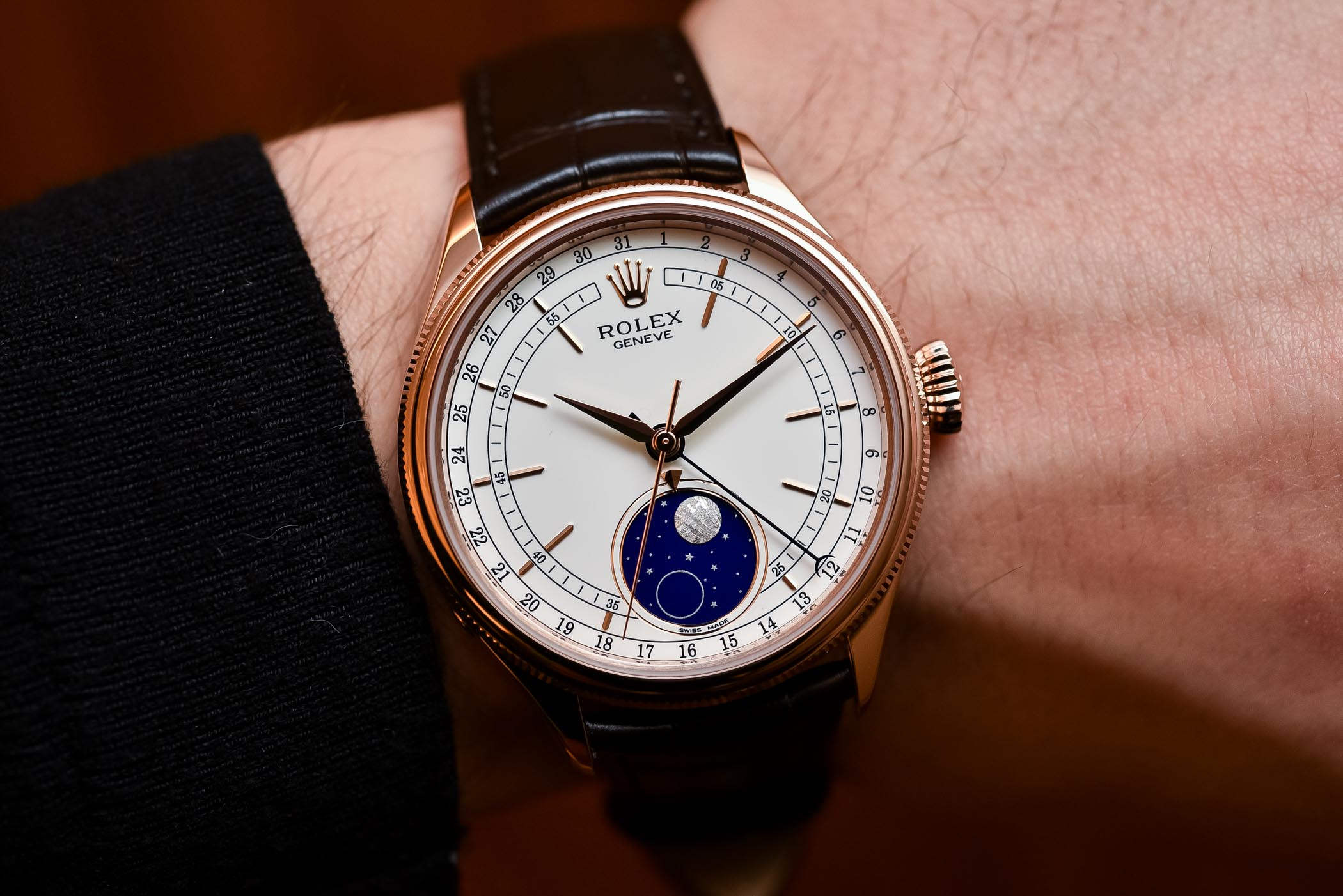 Rolex Cellini Moonphase Ref. 50535 , Baselworld 2017 Review