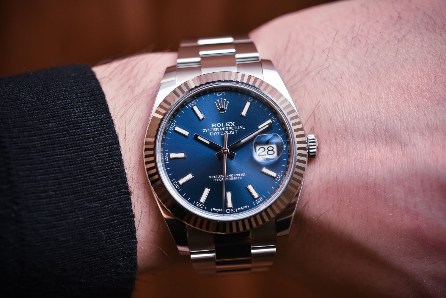 Rolex Datejust 41 steel - Top 10 Baselworld 2017