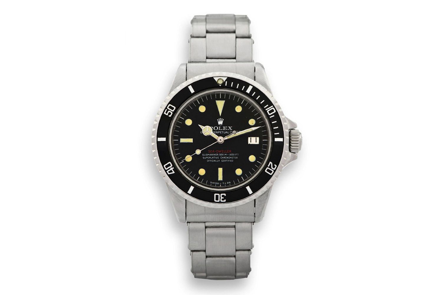 Rolex Sea-Dweller 1665 Prototype single red