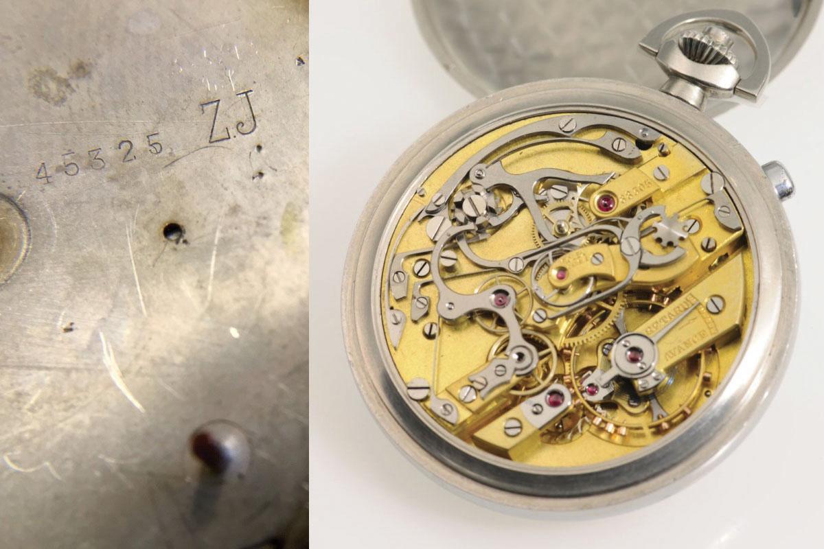 Rolex rattrapante chronograph pocket watch - Dr Crott Auctions
