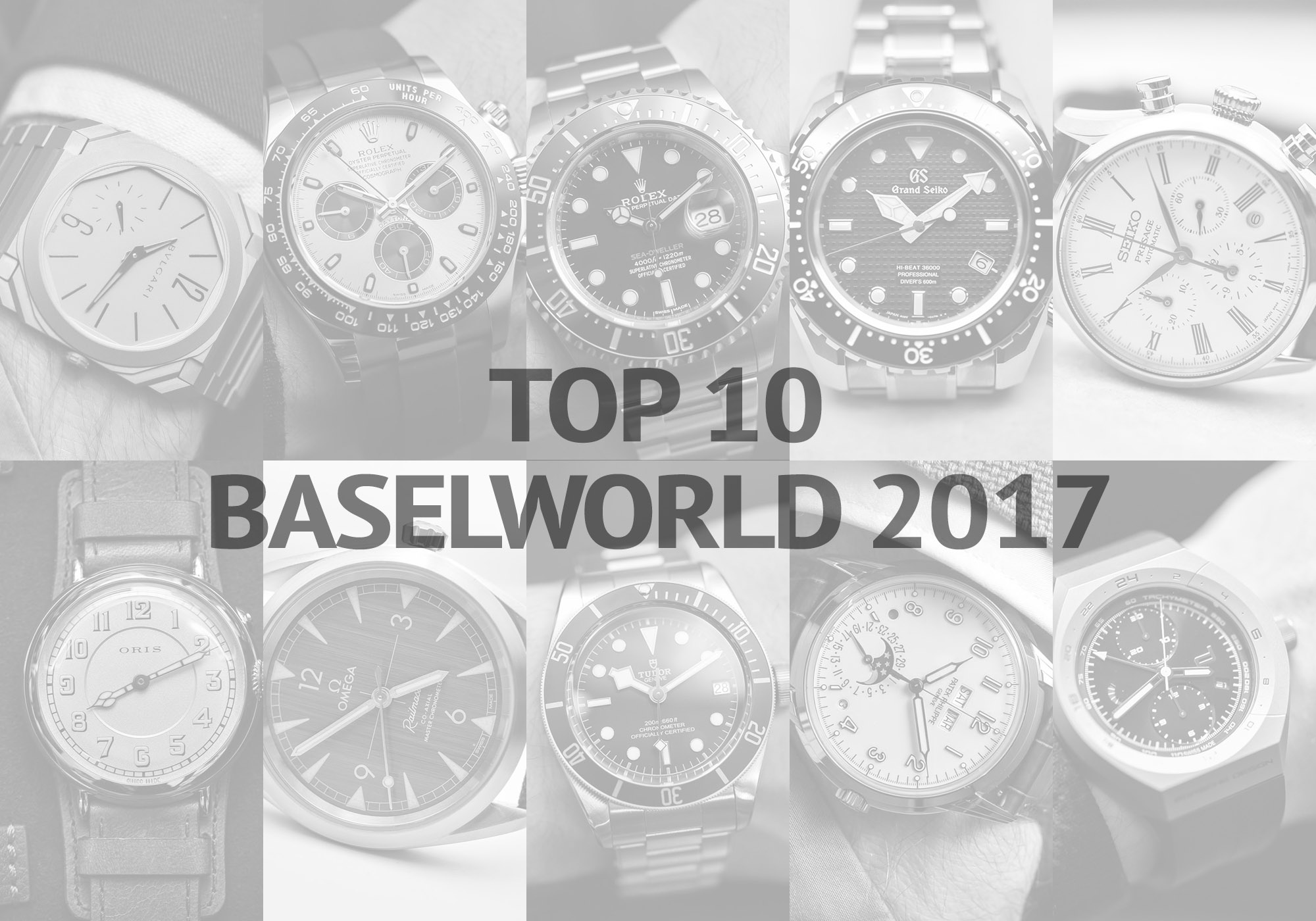 Top 10 Baselworld 2017 Frank Geelen