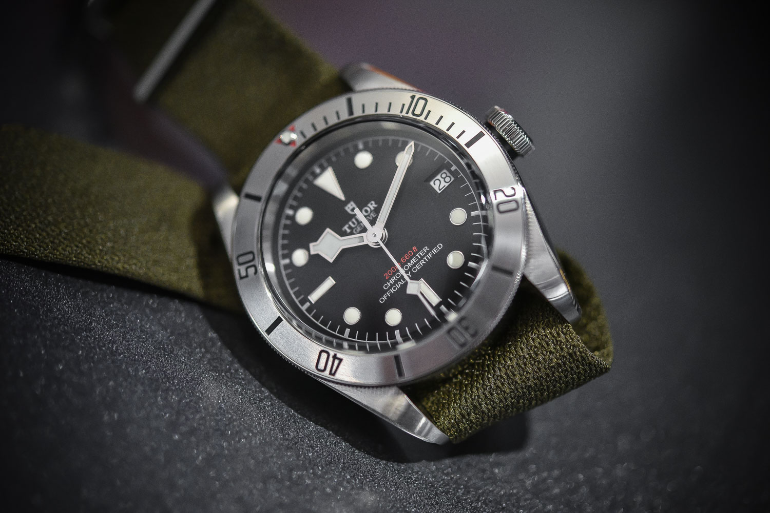 Tudor Heritage Black Bay Steel Date 79730