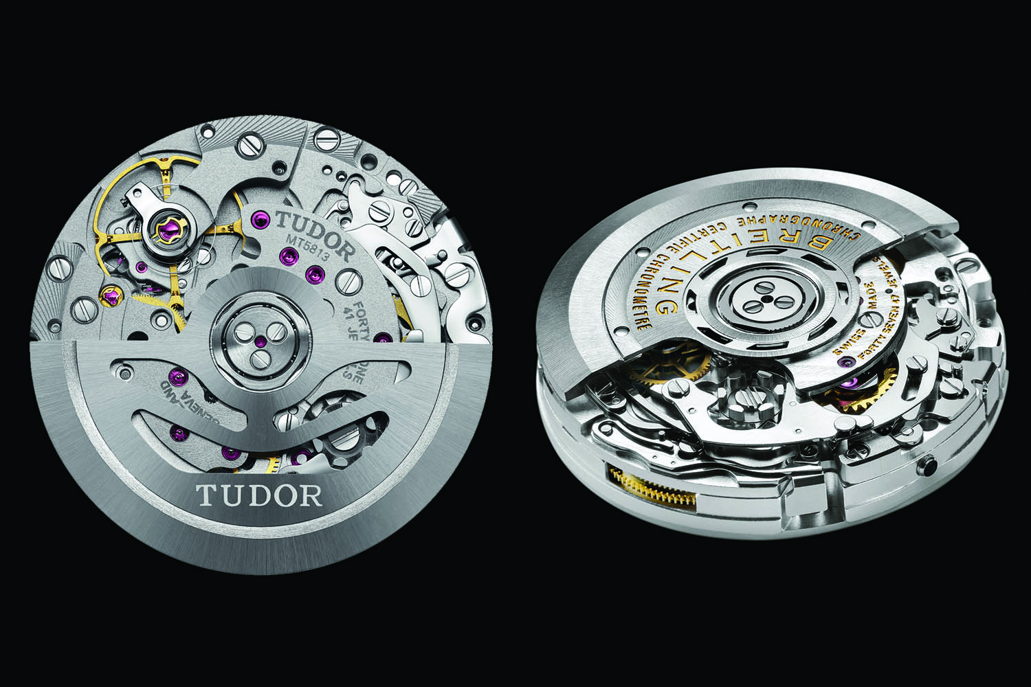 Tudor MT5813 - Breitling B01 Chronograph movement