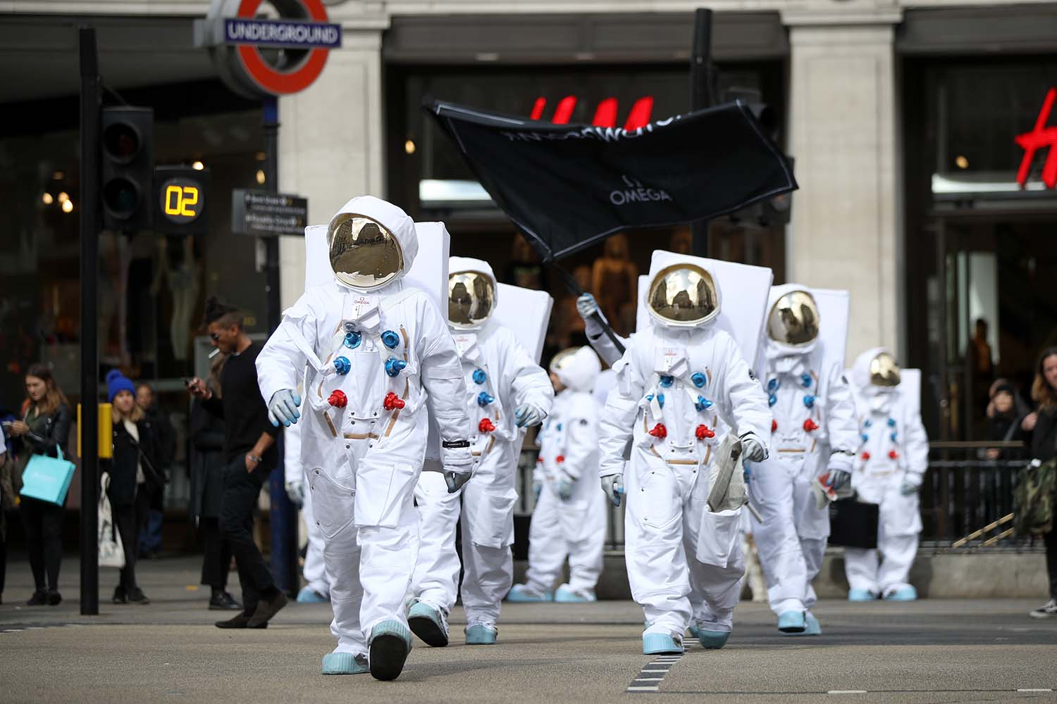 Astronauts on the loose in London