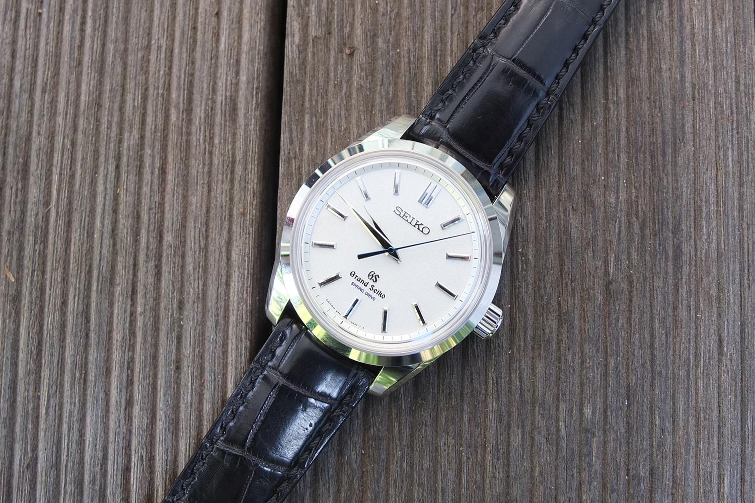 best service c99ae 8a3af Grand Seiko Spring Drive 8-Days and what's so