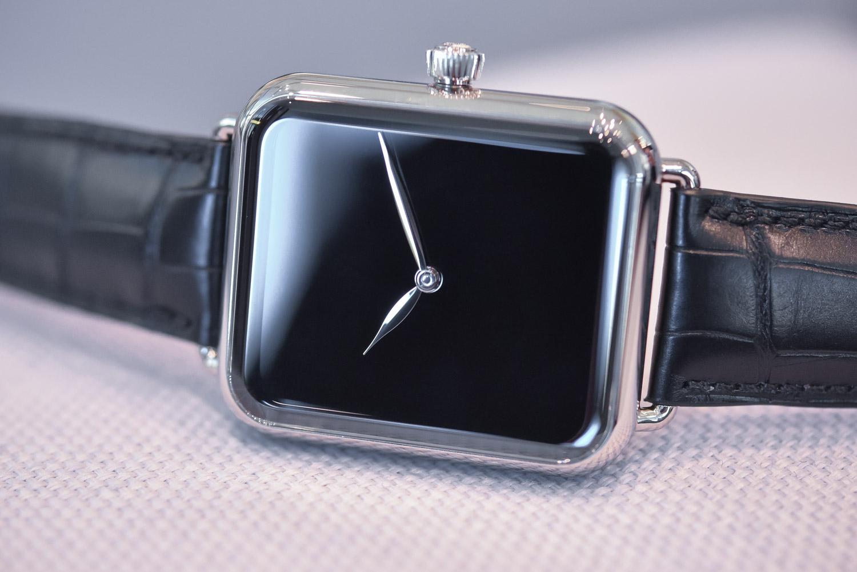 H. Moser Cie. Swiss Alp Watch Zzzz - Black Dial