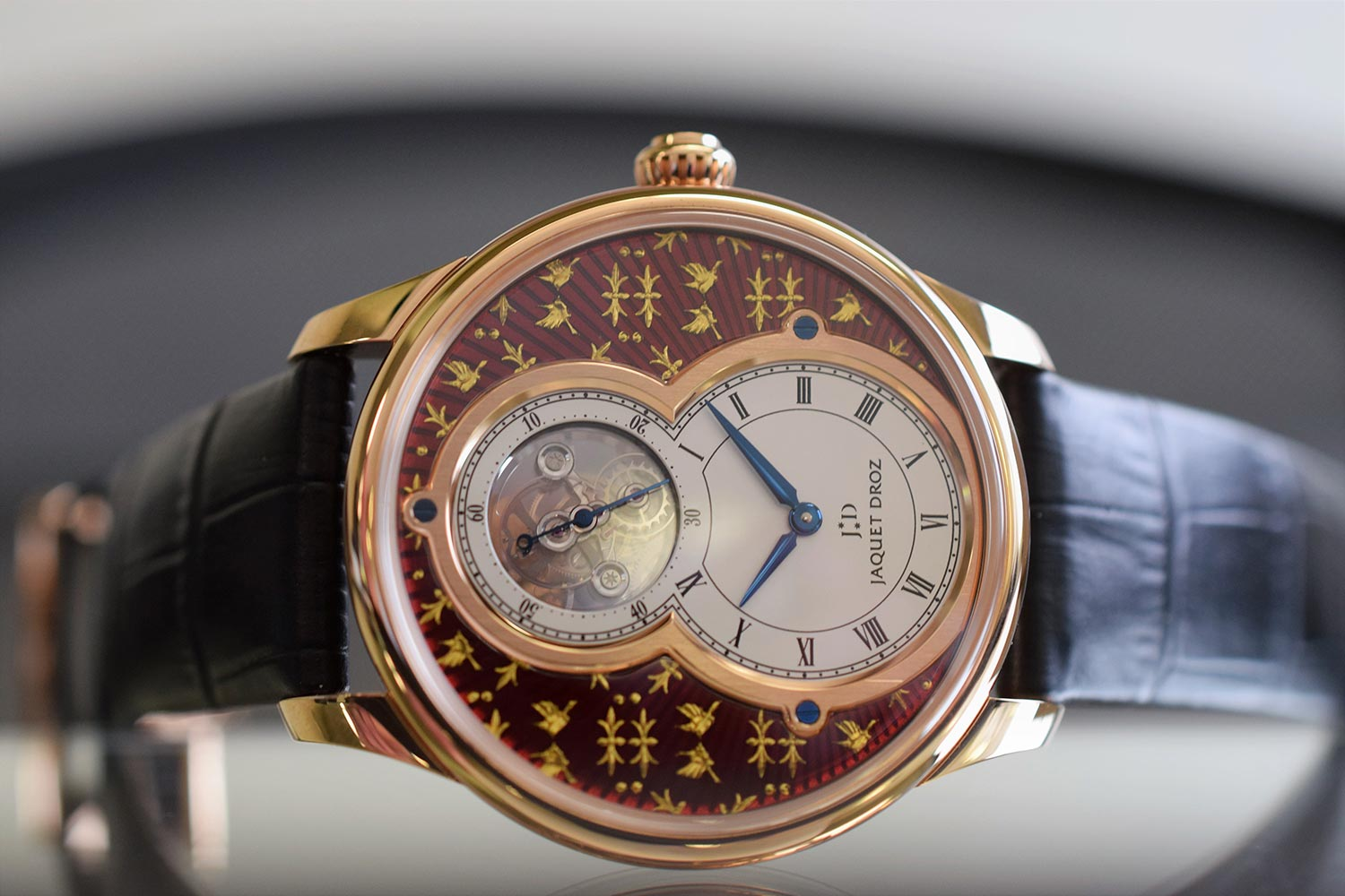 Jaquet Droz Grande Seconde Tourbillon Paillonne