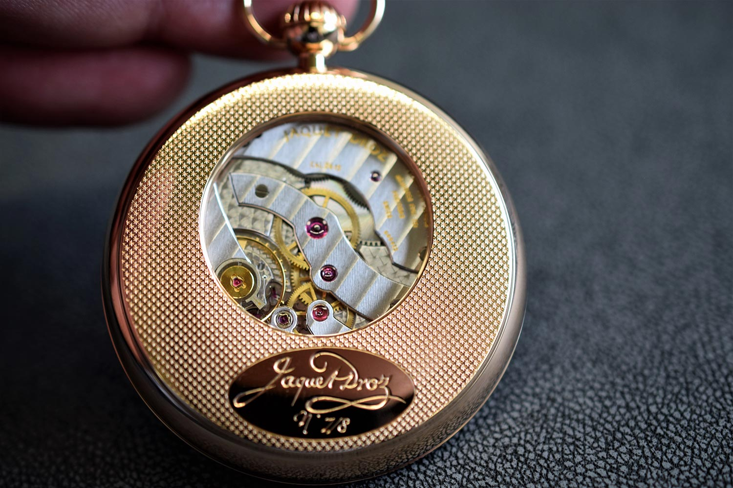 The Grande Seconde Paillonné Pocket Watch
