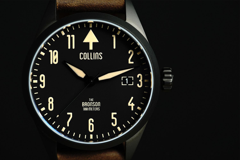 Kickstarter Bronson by Collins