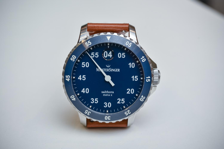 MeisterSinger Salthora Meta X - Single-Hand Jumping Hour Dive Watch ... 177903fccc