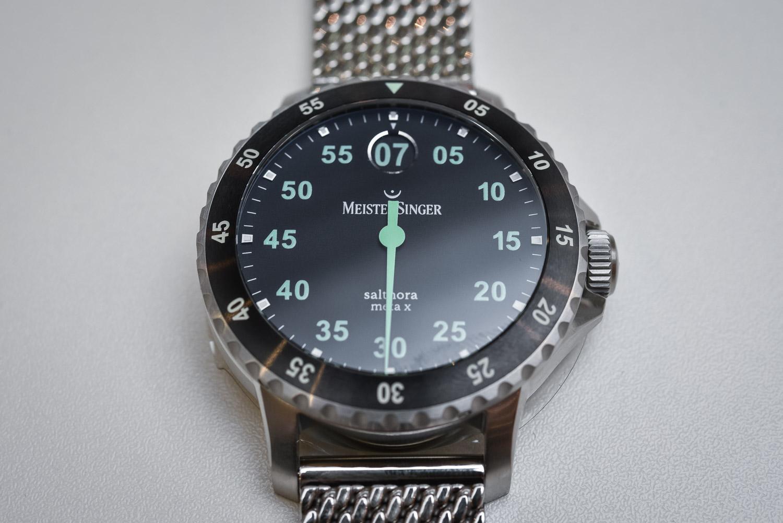 MeisterSinger Salthora Meta X - Single-Hand Jumping Hour Dive Watch