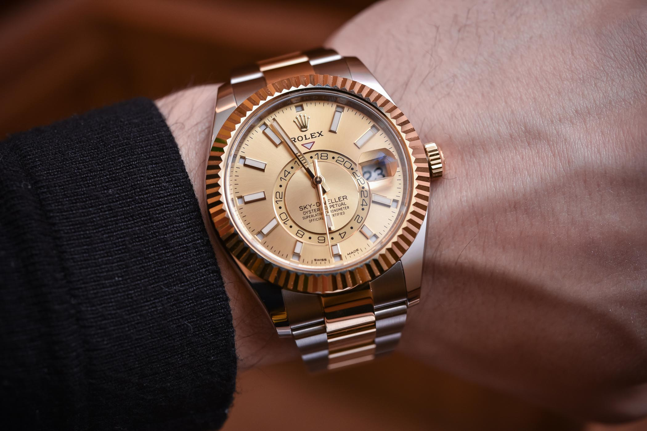 Rolex Sky-Dweller Rolesor Two-Tone 326933