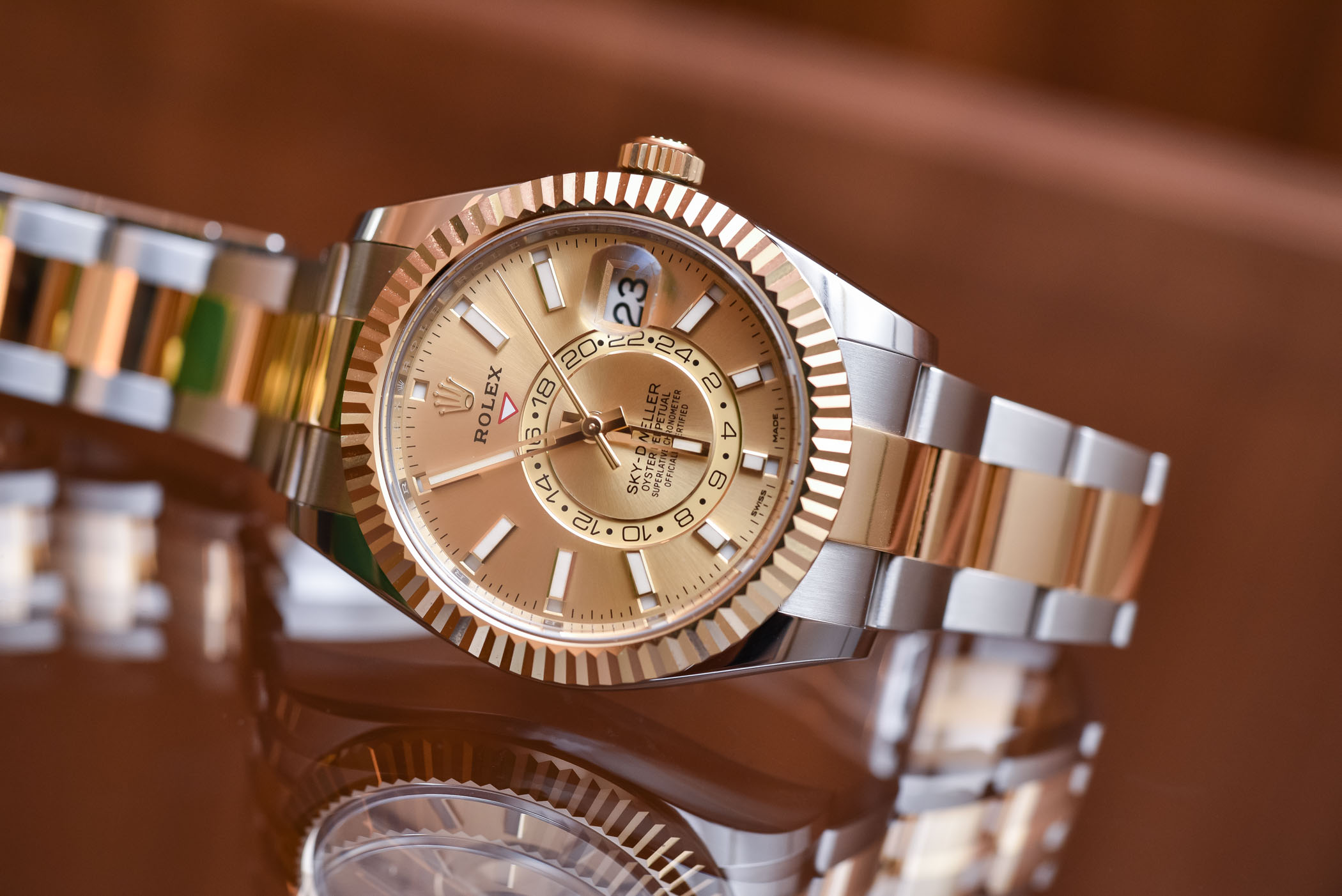 Rolex Sky,Dweller Steel 326934 \u0026 Two,Tone 326933 , Review