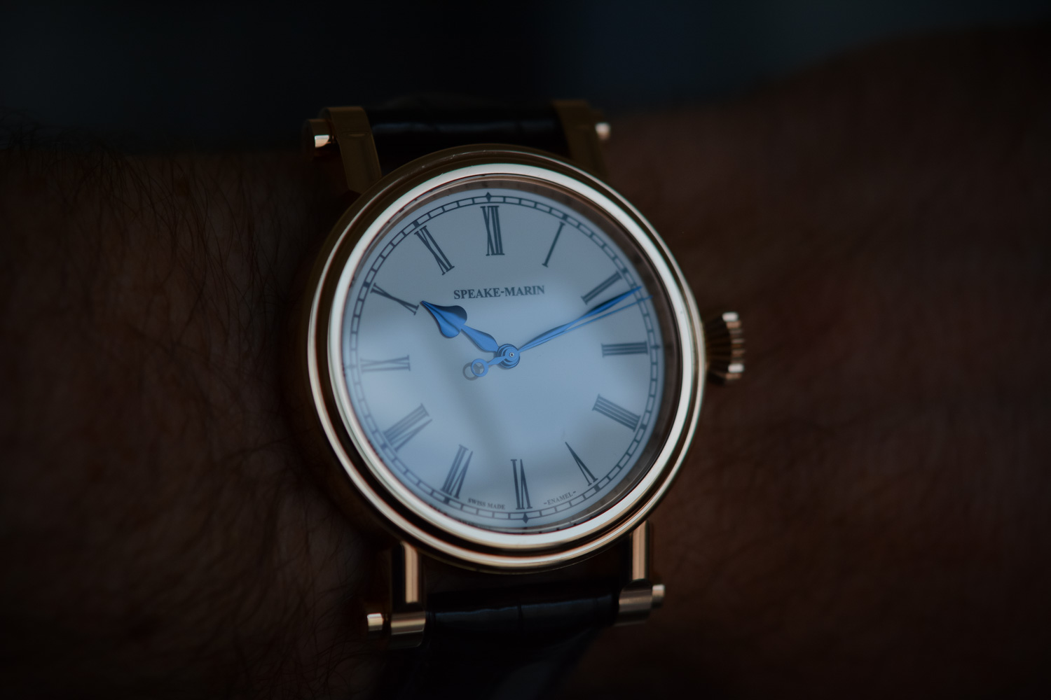 Speake Marin Resilience 42mm Red Gold