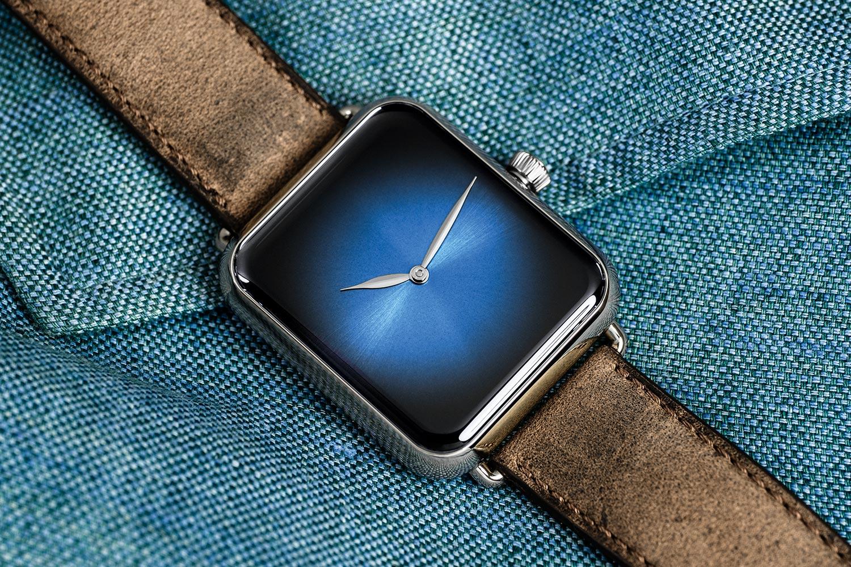 H. Moser Cie. Swiss Alp Watch Brrr - Blue Dial