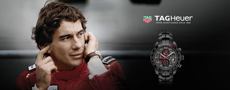TAG Heuer Carrera Heuer01 Senna 2017