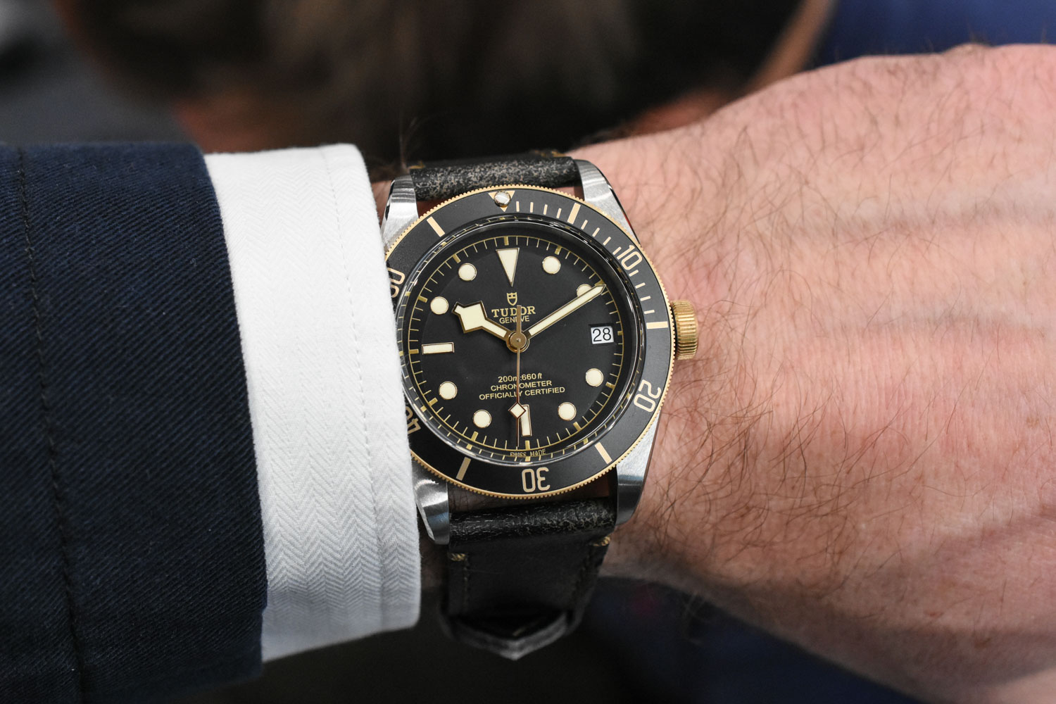 Tudor Black Bay Steel gold