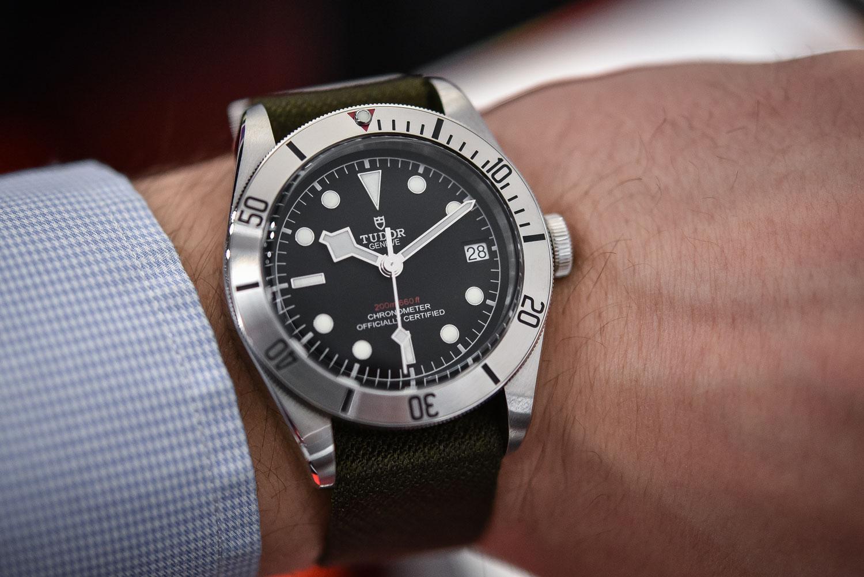 Tudor Heritage Black Bay Steel / Date ref. 79730