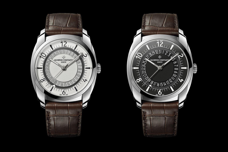Vacheron Constantin Quai de l'Ile Steel black silver dial