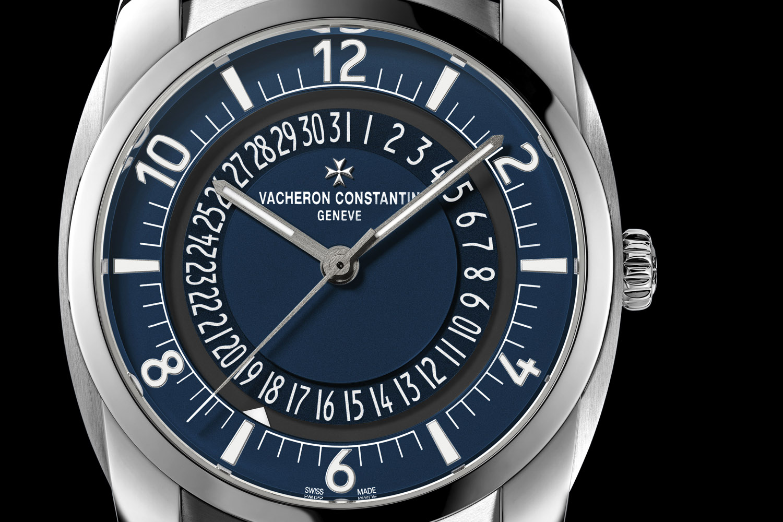 Vacheron Constantin Quai de l'Ile Steel blue dial