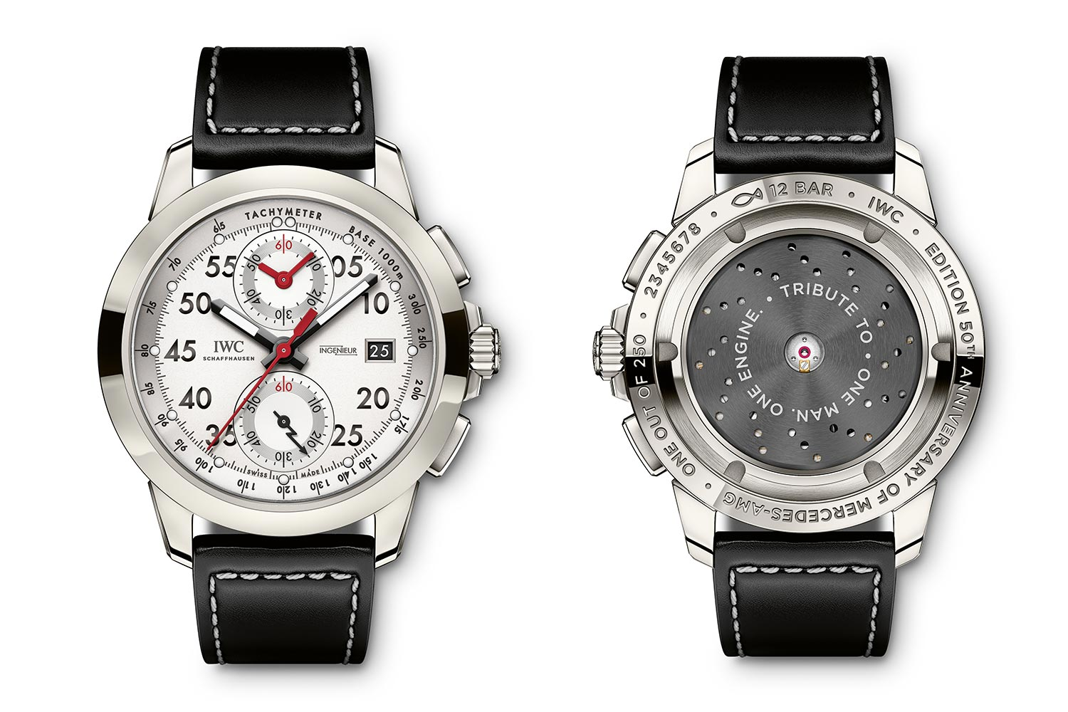 IWC Ingenieur Chronograph Special Edition AMG 50th Anniversary