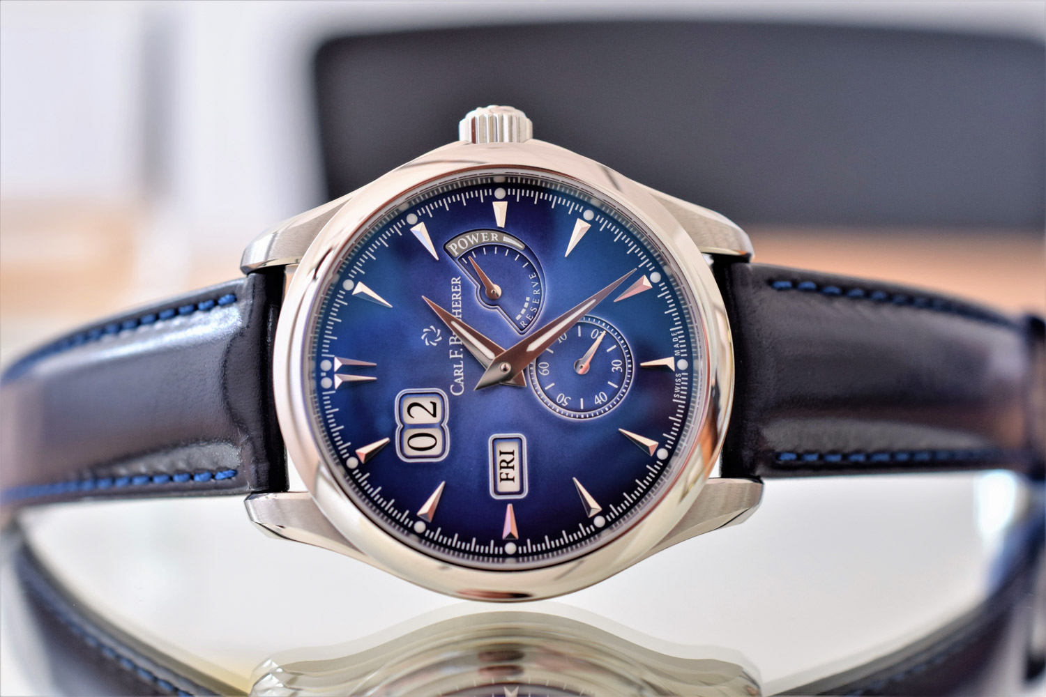 Carl F. Bucherer Manero Power Reserve Peripheral Rotor
