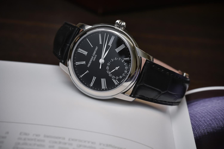 Frederique Constant Classic Manufacture Black Laquered Dial
