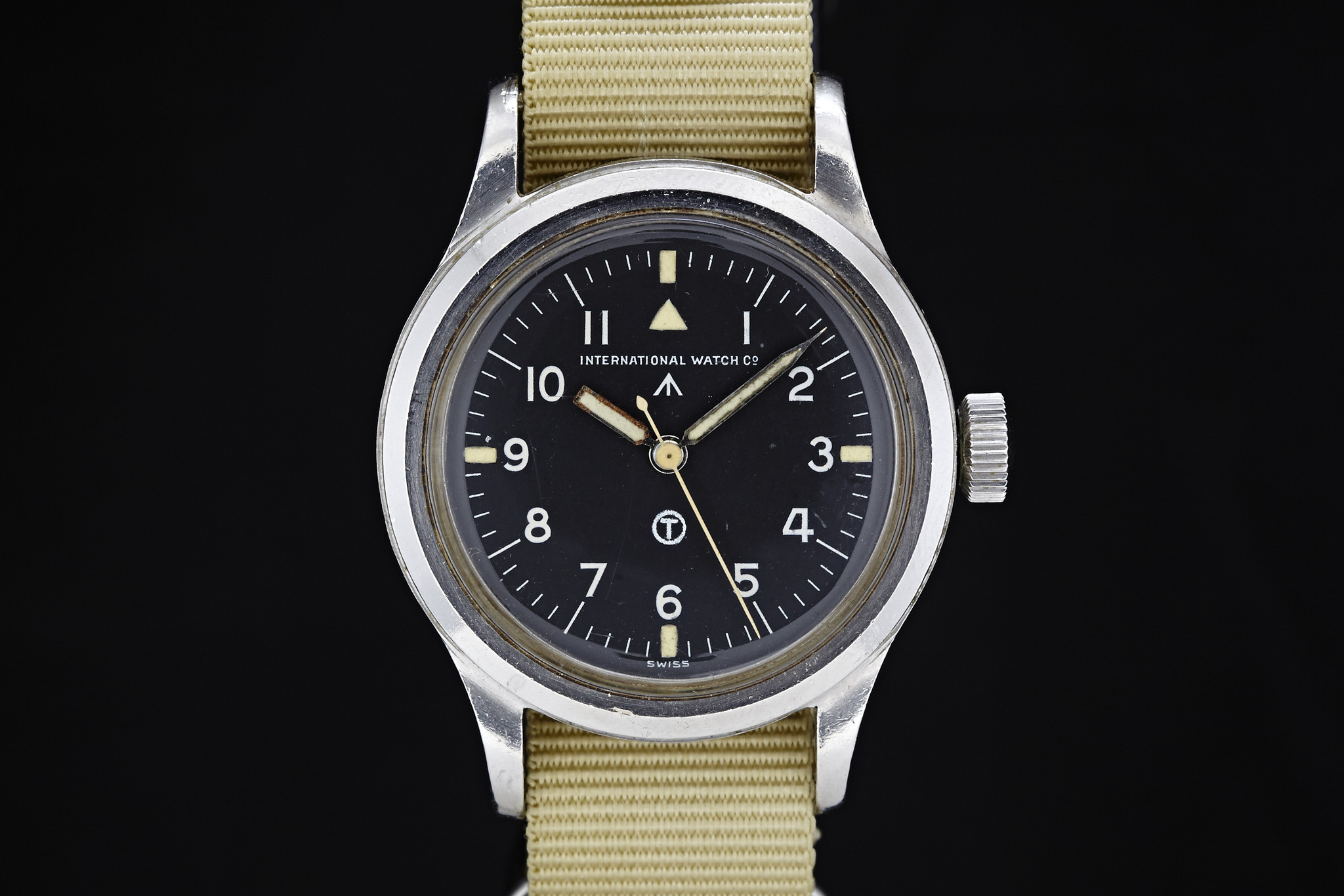 IWC Mark XI Pilots Watch - source analogshift
