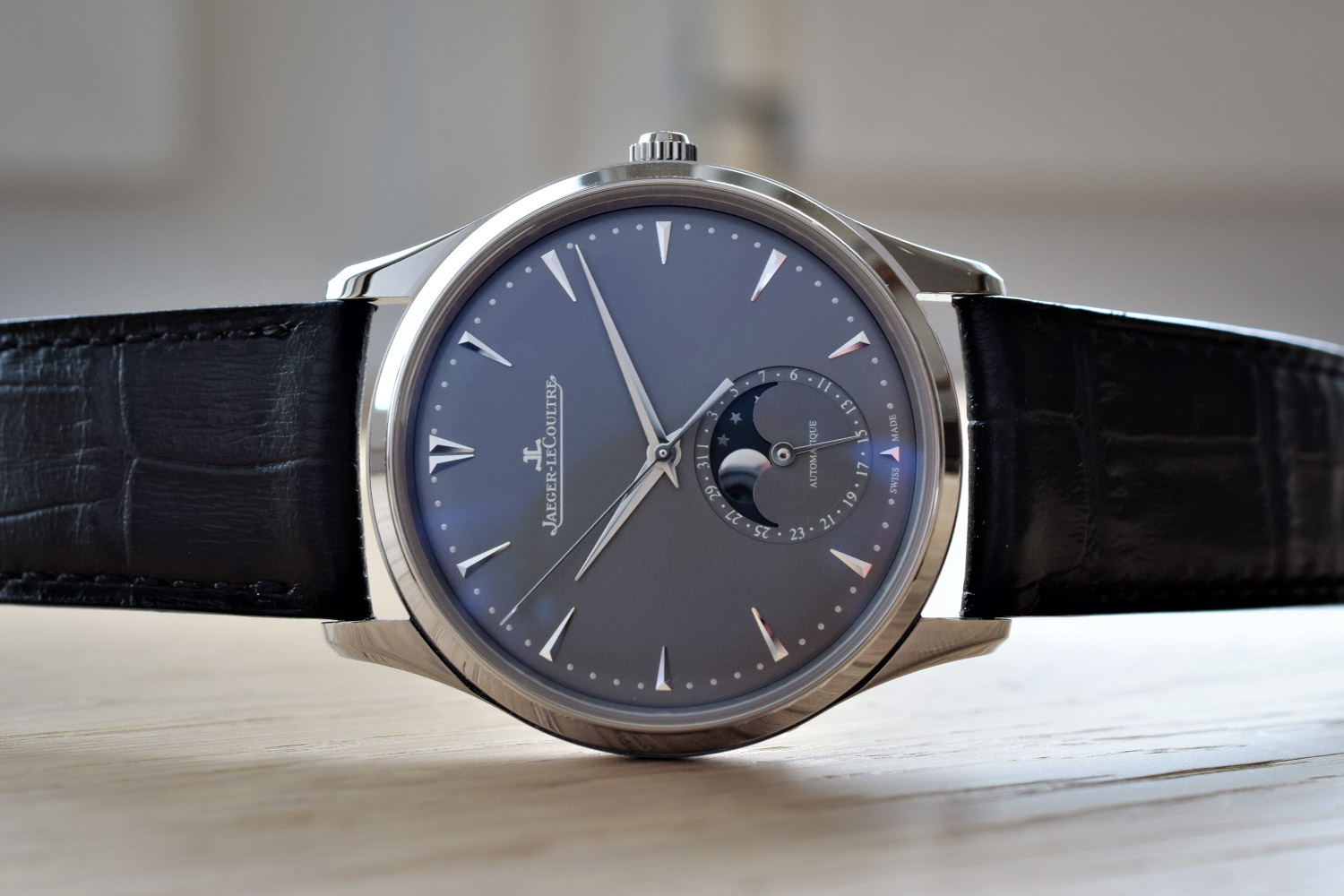 f05245afe9c0c Jaeger-LeCoultre Master Ultra-Thin With Blue and Grey Dials For 2017 ...